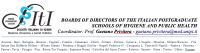 Board of Directors of the Italian Postgraduate Schools of Hygiene and Public Health